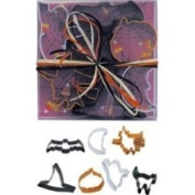 R&M R M 7 Piece Halloween Cookie Cutter Set with Gift Box Assorted Colours