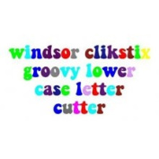 Windsor Groovy Lowercase Letters Clickstix Cutter