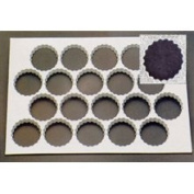 Thermohauser Thermo Cookie Cutting Sheet 9cm Rosette 20/Sheet