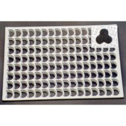 Thermohauser Thermo Cookie Cutting Sheet 3cm Flower 105/Sheet