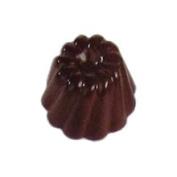 Cabrellon M139 Chocolate Mould Twist Kugelhopf 30mm Diameter x 18mm High 35 Cavities