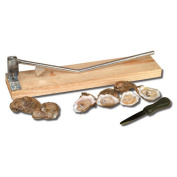 King Kooker Stainless Steel Oyster Opener and Oyster Knife 5500