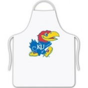 Sports Coverage Kansas Jayhawks KU Chef's BBQ Kitchen Apron