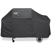 Weber 7552 Premium Black Grill Cover for Genesis Grills