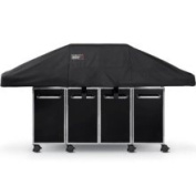 Weber 7549 Premium Cover FITS Genesis Grill with Island Cabinetry