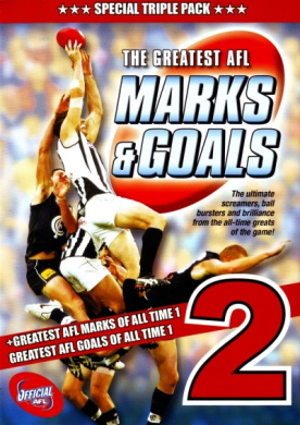 The Greatest AFL Marks and Goals 2 (Special Triple Pack)
