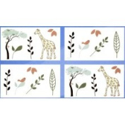 CoCaLo 7043-840 Moremi Removable Wall Appliques