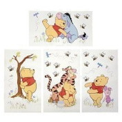 Kids Line 4765081 Patchwork Pooh Wall Decals Toys R US