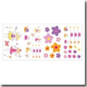 Borders Unlimited Fairies Self Stick Wall Appliques