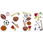 Borders Unlimited Let's Play Ball Wall Stickers Set