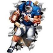 Kansas Jayhawks Wallcrasher Wall Decal - Football 11 5209433