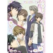 Junjo Romantica Gloral Group Cloth Wall Scroll Poster GE-5308