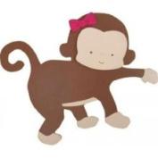 Kids Line Miss Monkey Wall Art-3D