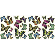 Mystyle MS0107 Butterflies Glow in The Dark Wall Stickers