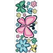 Borders Unlimited Bedtime Butterfly Jumbo Wall Appliques