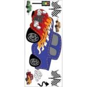 Borders Unlimited Fast Fun Super Jumbo Wall Stickers Decals BU1587