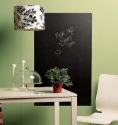 Wallies Wallcoverings 16020 Big Peel & Stick Chalkboard Slate Gray