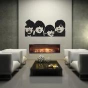 The Custom Vinyl Shop 4116042 Beatles Wall Art Words Lettering