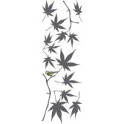 Crearreda CR-58387 Japanese Maple Wall Stickers and Decals