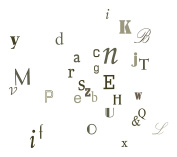 Crearreda CR-58386 Type - Alphabet Wall Stickers and Decals
