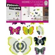 Nouvelles Images Home Stickers Butterflies 2