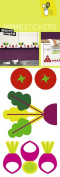 Nouvelles Images 2358571 Home Stickers Graphic Vegetable Garden