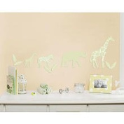 Little Boutique Flocked Decal - Safari Animal 80D0C09A