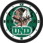 Suntime North Dakota Fighting Sioux Dimension Wall Clock