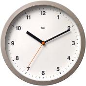 Designer Helio White 25.4cm Wide Modern Wall Clock