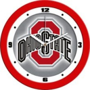 Ohio State Buckeyes Dimension Wall Clock Sun Time