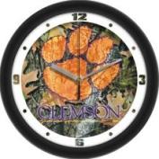 Linkswalker Clemson Tigers NCAA 30.5cm Camo Wall Clock 30.5cm