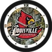 Linkswalker Louisville Cardinals NCAA 30.5cm Camo Wall Clock 30.5cm