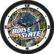 Linkswalker Boise State Broncos BSU NCAA 30.5cm Camo Wall Clock 30.5cm