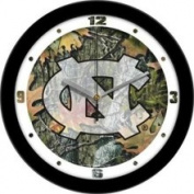 Suntime North Carolina Tar Heels NCAA Wall Clock Cameo