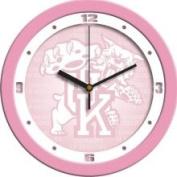 Kentucky Wildcats 30.5cm Pink Wall Clock