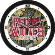 Linkswalker Arkansas State Red Wolves ASU NCAA 30.5cm Camo Wall Clock 30.5cm