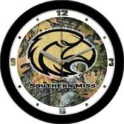 Linkswalker Southern Miss Golden Eagles USM NCAA 30.5cm Camo Wall Clock 30.5cm