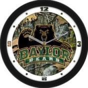 Baylor University Bears 30.5cm Wall Clock - Camo