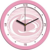 Linkswalker Penn State Nittany Lions NCAA 30.5cm Pink Wall Clock 30.5cm