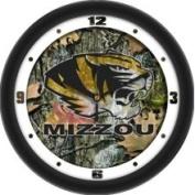 Linkswalker Missouri Tigers- University of 30.5cm Wall Clock - Camo
