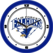 Air Force Academy Falcons Glass Wall Clock