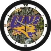 Linkswalker Northern Iowa Panthers Uni NCAA 30.5cm Camo Wall Clock