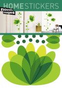 Home Stickers Big Flower Decorative Wall Stickers 2358694