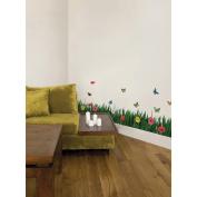 Crearreda CR-57352 Grass Wall Stickers