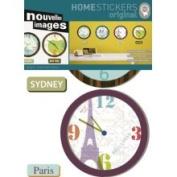 Nouvelles Images Home Stickers World Clocks