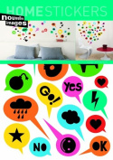 Nouvelles Images 2358624 Home Stickers Nivet-cool Decorative Wall