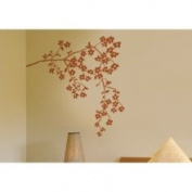 Spot Coastline Blossoms Wall Decal ADZif Colour