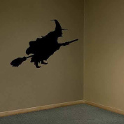 Shindigz Wstwth Whitch Silhouette Wall Graphic