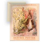 Art4kids 28002 Beatrix potter:bunnies in Garden, Contemporary Mount