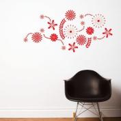 Ado Flower Power Wall Decal ADZif Colour